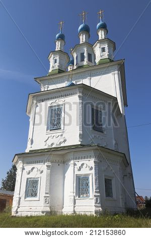 Holy Trinity Church in the town of Totma, Vologda Region, Russia
