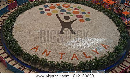 ANTALYA, TURKEY - november 4 2017: Antalya International Airport Antalya Havalimani . Turkey . Asia Minor