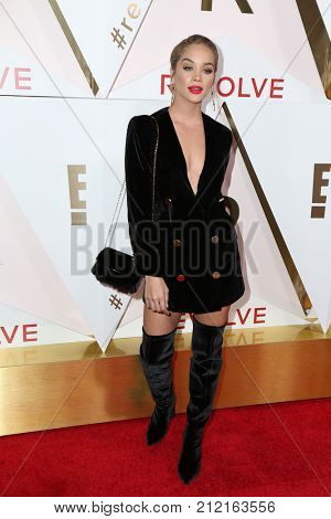 LOS ANGELES - NOV 2:  Jasmine Sanders at the 2017 Revolve Awards at the Dream Hotel Hollywood on November 2, 2017 in Los Angeles, CA