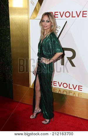LOS ANGELES - NOV 2:  Nicole Richie at the 2017 Revolve Awards at the Dream Hotel Hollywood on November 2, 2017 in Los Angeles, CA