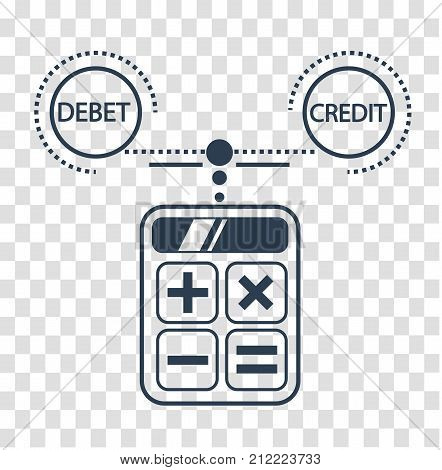 Silhouette Debit And Credit