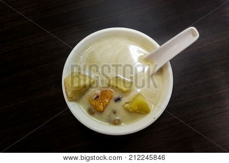 Bubur Cha cha is popular sweet nyonya dessert among Malaysian food especially in Penang