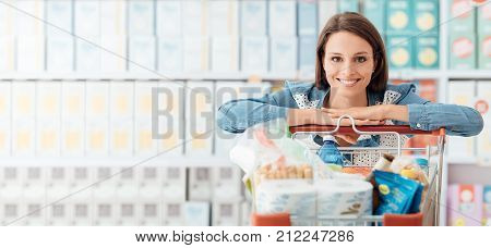 Woman Enjoying Shopping