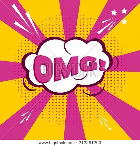 Ho ho comic speech bubble cartoon. Comic sound effect pop art effect communication retro vector. Sketch cloud drawing boom pop art pattern. Bang explosion style expression surprise exploding.