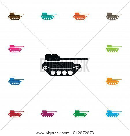 Panzer Vector Element Can Be Used For Panzer, Defense, Tank Design Concept.  Isolated Defense Icon.