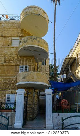 Historical Houses In Haifa