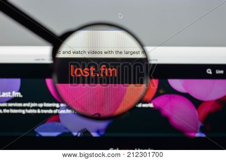 Milan, Italy - August 10, 2017: Last.fm Website Homepage. It Is A Music Website, Founded In The Unit