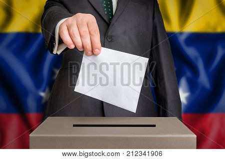 Election In Venezuela - Voting At The Ballot Box
