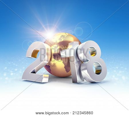 2018 Worldwide Greeting Symbol
