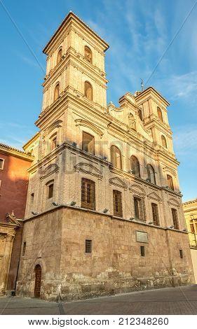 Church of Santo Domingo in Murcia - Spain