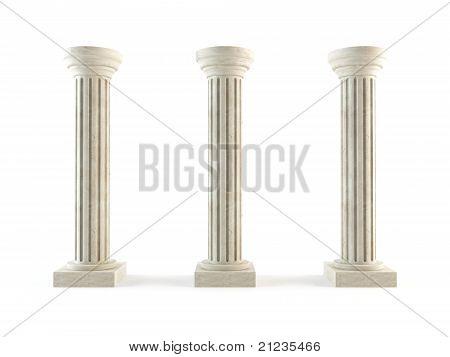 Classic columns