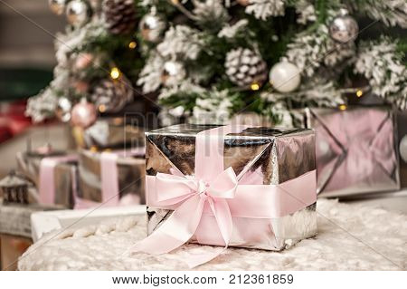 Gift Under The Christmas Tree