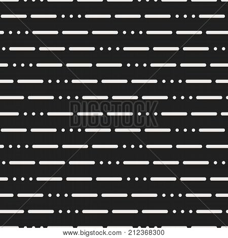 Modern Background With Lines And Dots On A Black Background