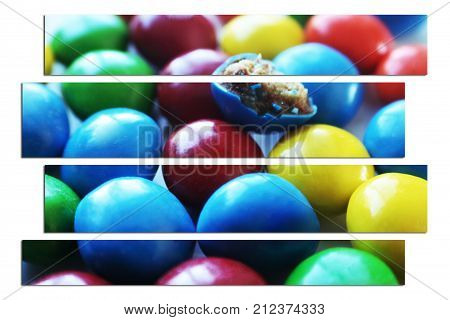 Candy Art Close Up High Quality Stock Photo