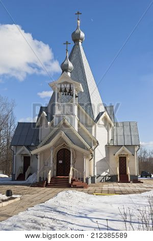 Church of the Ascension of the Lord in the city Sokol Vologda region, Russia