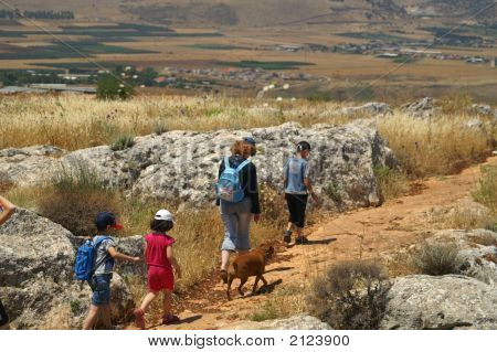 Galilee Landscape - Hiking With Children