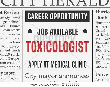 Toxicologist Medical Career