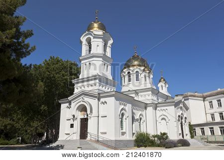 Holy Ascension Cathedral in the city Gelendzhik, Krasnodar region, Russia