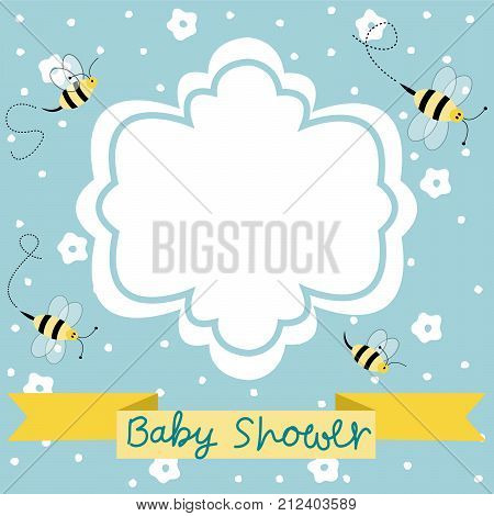 New baby arrival baby shower and vector