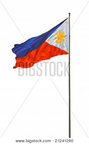 A Philippines Flag