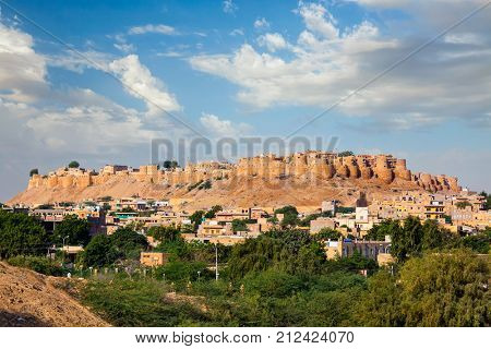 Jaisalmer Fort - one of the largest forts in the world, known as the