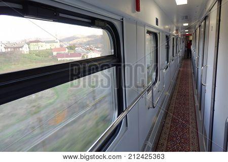 compartment carriage interior
