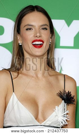 Alessandra Ambrosio at the Los Angeles premiere of 'Daddy's Home 2' held at the Regency Village Theatre in Westwood, USA on November 5, 2017.