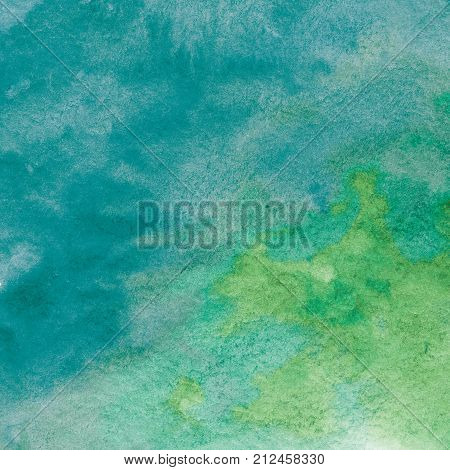 Abstract painted tye-dye paper with grained texture for scrapbooking design
