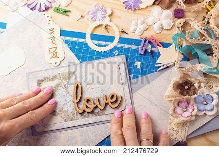 Scrapbook - Card And Tools