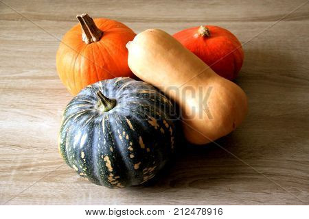 Time for pumpkins - colorful, smelly, tasty, for dinner and for dessert.