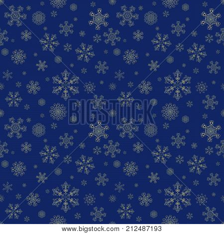 Abstract Winter Seamless Pattern