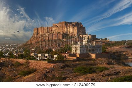 Mehrangarh Fort And Jaswant Thada Mausoleum