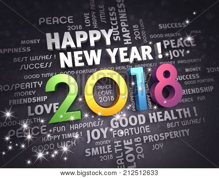 2018 Happy New Year !
