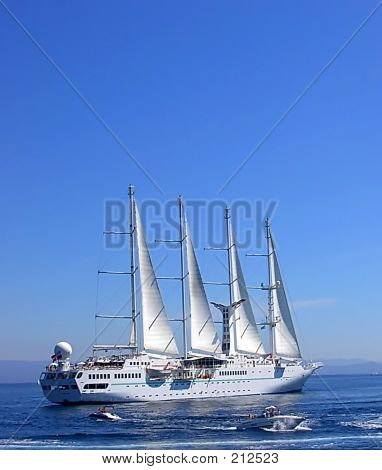 Sailship Cruise Ship Sailing Vessel