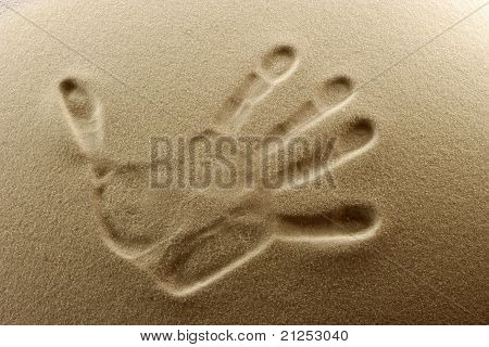 Imprint Of The Hand