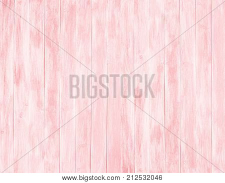 Pink wood planks background. Pink wooden vertical boards decoration