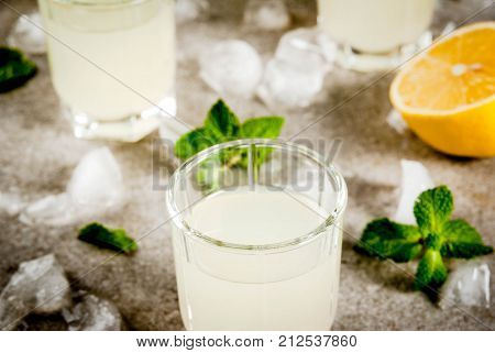 Italian Liqueur Limoncello