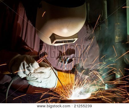 Stick welder