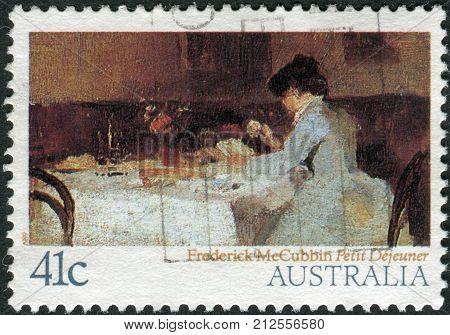 Australia - Circa 1989: Postage Stamp Printed In Australia, Shows A Picture Of