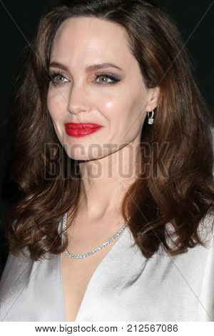 LOS ANGELES - NOV 5:  Angelina Jolie at the 2017 Hollywood Film Awards at Tao on November 5, 2017 in Los Angeles, CA