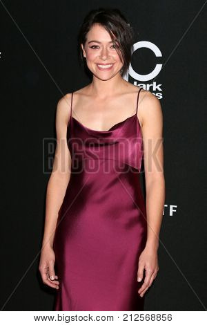 LOS ANGELES - NOV 5:  Tatiana Maslany at the 2017 Hollywood Film Awards at Tao on November 5, 2017 in Los Angeles, CA