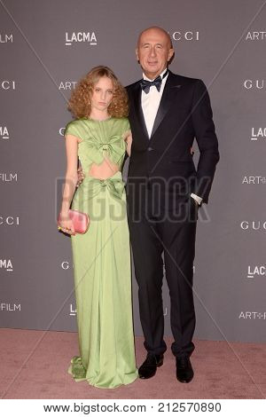 LOS ANGELES - NOV 4:  Petra Collins, Marco Bizzarri at the LACMA: Art and Film Gala at the Los Angeles County Musem of Art on November 4, 2017 in Los Angeles, CA