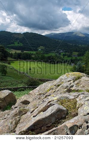 View of the Lake District, England