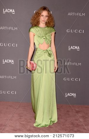 LOS ANGELES - NOV 4:  Petra Collins at the LACMA: Art and Film Gala at the Los Angeles County Musem of Art on November 4, 2017 in Los Angeles, CA