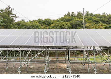 Solar panels, Photovoltaic modules for innovation green energy for life