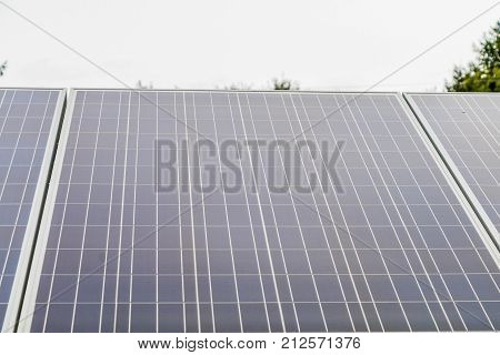 Solar panels  Photovoltaic modules for innovation green energy for life