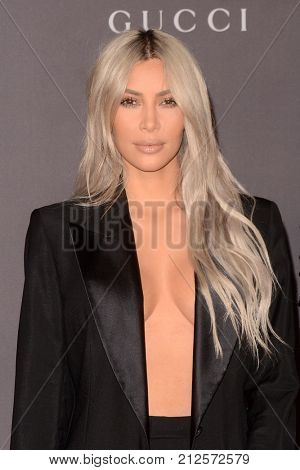 LOS ANGELES - NOV 4:  Kim Kardashian West at the LACMA: Art and Film Gala at the Los Angeles County Musem of Art on November 4, 2017 in Los Angeles, CA