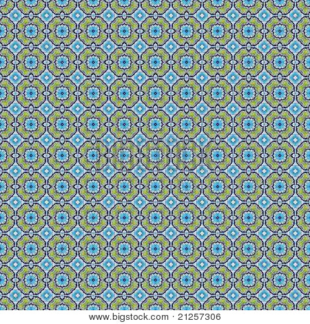 Blue and Green Pattern Background