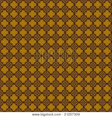 Brown and Gold Pattern Background