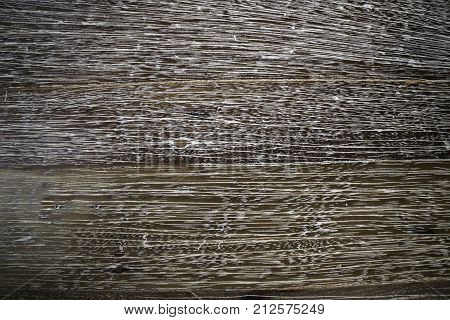 White lines wooden table texture background stock photo